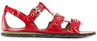 Miu Miu buckled multi-strap sandals