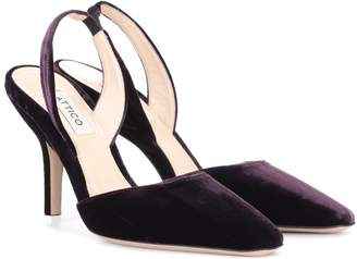 ATTICO The Velvet slingback pumps
