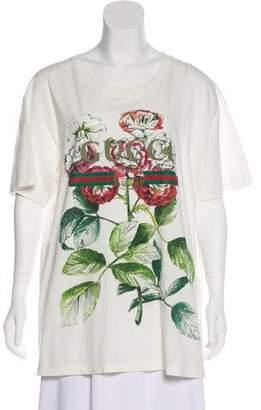 Gucci 2017 Fake Print T-Shirt