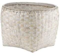 Design Ideas Bella Large Hand-Woven Round Basket