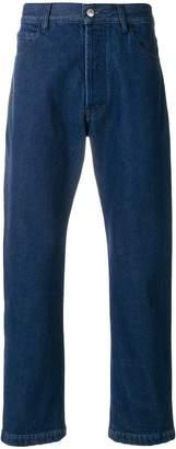 Marni embellished pocket jeans