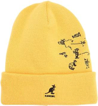 Kangol Rock Art Rev Knit Beanie Hat