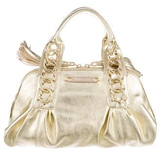 MICHAEL Michael Kors Michael Kors Metallic Leather Handle Bag w/ Tags