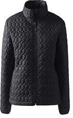 Lands' End Women's Tall Packable Primaloft Jacket-Soft Magenta $99 thestylecure.com
