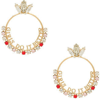 Anton Heunis Girls Do It Better Earring