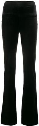 Norma Kamali colour block trousers