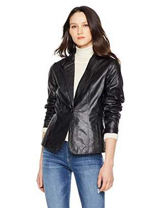 FIRST STOP Women's Leather Fit Outdoor Jacket Size XL