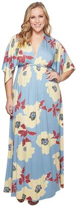 Rachel Pally Plus Size Long Caftan Dress Women's Dress