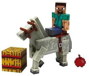 Minecraft Steve With Horse Pk