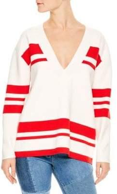 Sandro Polvo Oversized Sweater