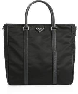Prada Nylon Logo Shopper