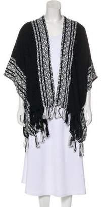 Rebecca Minkoff Patterned Knit Shawl w/ Tags