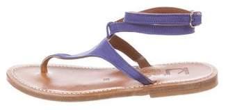 K Jacques St Tropez Pelagia Ankle-Strap Sandals