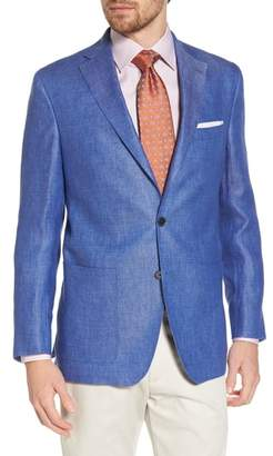 David Donahue Aiden Classic Fit Linen Blazer