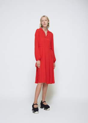 Marni Long Sleeve V-Neck Dress
