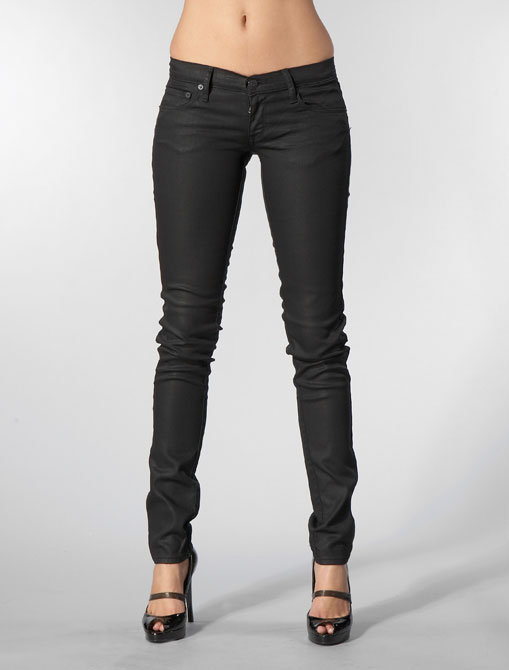 Denim & Thread Lowrise/Super Slim Fergie Jean