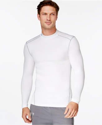Under Armour Men's ColdGear Mock Neck Long-Sleeve T-Shirt