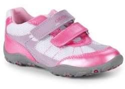 Geox Little Girl's & Girl's J Better A-Durabuck Sneakers