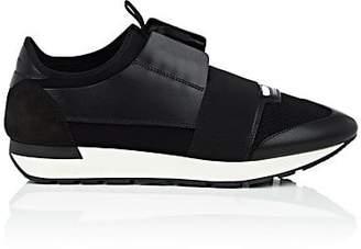 Balenciaga Men's Race Runner Sneakers - Black