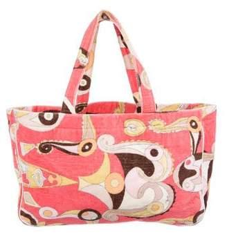 Emilio Pucci Paisley Print Shoulder Bag