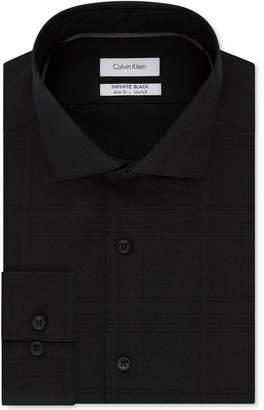 Calvin Klein Men's Steel Slim-Fit Non-Iron Performance Dress Shirt