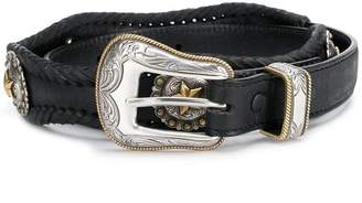 Jessie Western embellished concho belt