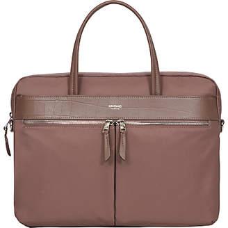Knomo Hanover Slim Briefcase for 14 Laptops, Fig