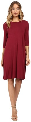 Christin Michaels Abida 3/4 Sleeve Flowy Dress $69 thestylecure.com