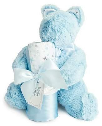 Swankie Blankie Sweet Dreams Bear & Blanket Gift Set
