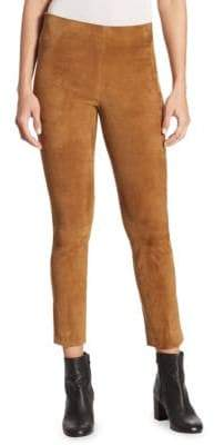 Vince Stretch Suede Pants