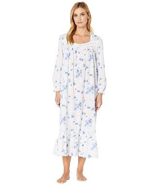Eileen West Cotton Woven Lawn Long Sleeve Ballet Gown
