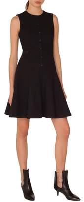 Akris Punto Pique Jersey A-Line Dress