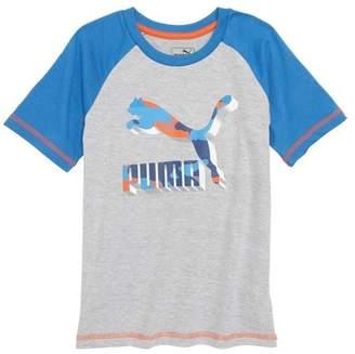 Puma Costa Graphic Raglan T-Shirt (Toddler Boys & Little Boys)
