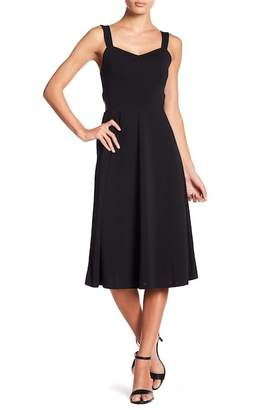 Free Press Side Cutout Midi Dress
