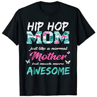 Funny Hip Hop Mom T Shirt Sports Mother TShirt