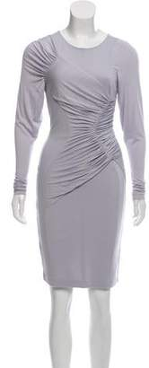 Altuzarra Long Sleeve Knee-Length Dress