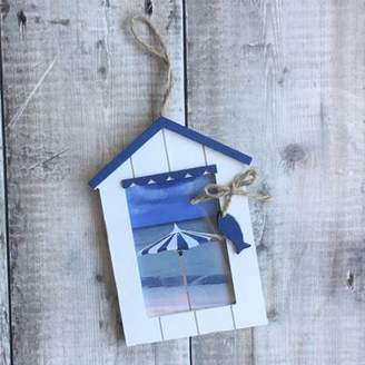 The Contemporary Home Beach Hut Picture Frame