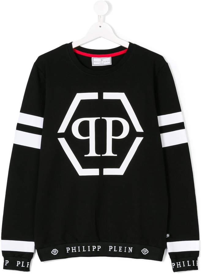 Philipp Plein Junior Sweatshirt mit Logo...