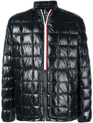 Moncler quilted collarless jacket
