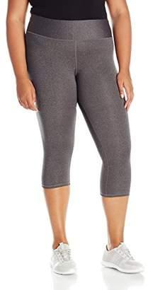 Champion Women's Plus-Size SmoothTec Capri Legging