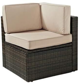 Crosley Palm Harbor Outdoor Wicker Corner Chair