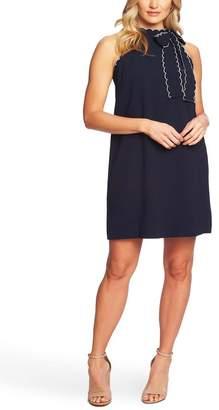Cynthia Steffe CeCe by Sleeveless Tie Neck Shift Dress
