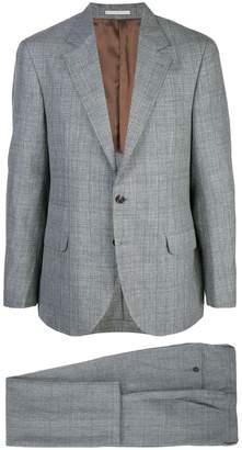 Brunello Cucinelli micro-check suit