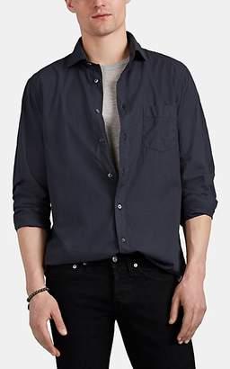 Hartford Men's Cotton Voile Shirt - Dark Gray