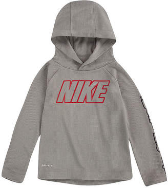 Nike Dri-Fit Thermal Boys Fitted Sleeve Dri-Fit Hoodie-Toddler