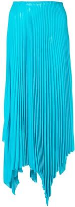 Marques Almeida Marques'Almeida asymmetric pleated skirt