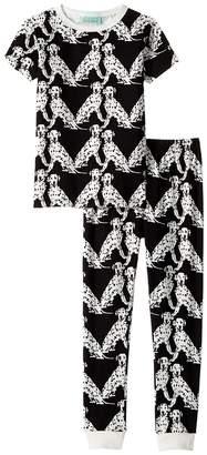 BedHead Kids Short Sleeve Pajama Set Girl's Active Sets