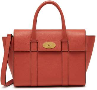 Mulberry Small Bayswater Coral Rose Small Classic Grain