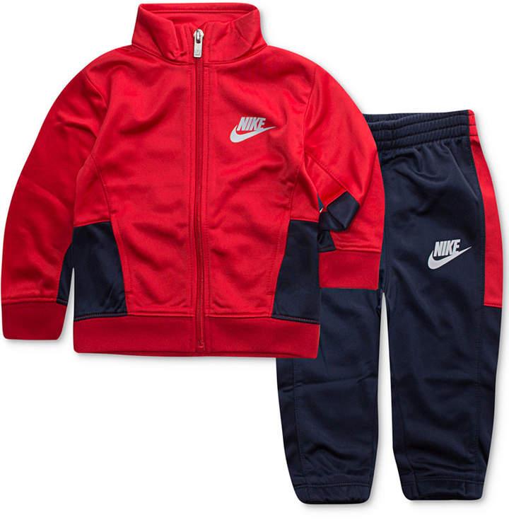 Nike 2-Pc. Futura Track Suit Jacket & Pants Set, Little Boys (4-7)
