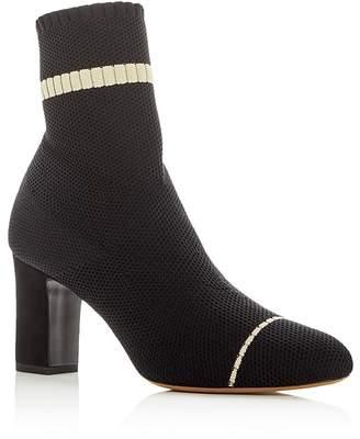 Tabitha Simmons Women's Anna Stretch Knit High Heel Booties
